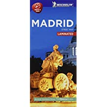 Michelin Madrid City Map - Laminated