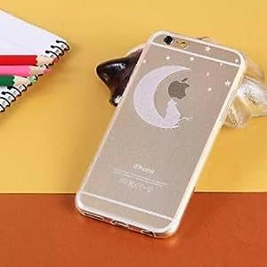 SHOUJIKE Creative Pattern Transparent TPU Pattern Soft Case for iPhone 6