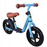 JOYSTAR 12 Inch Kids Balance Bike for 2 3 4 5 Year Old Children, Girls & Boys Glider/Push Bike, No Pedal Bicycle for Balance Training – (Blue, Green, Pink)