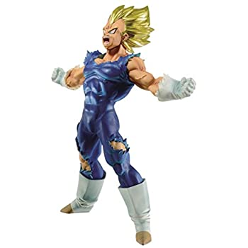 "Banpresto 604727"" Scultures Dragon Ball Z-Bos-Maijin Vegeta Action Figure, 17 cm"