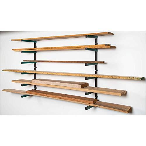 Grizzly Industrial T27630 - Lumber Rack 6-Shelf System (Storage Heavy Rack Duty Lumber)