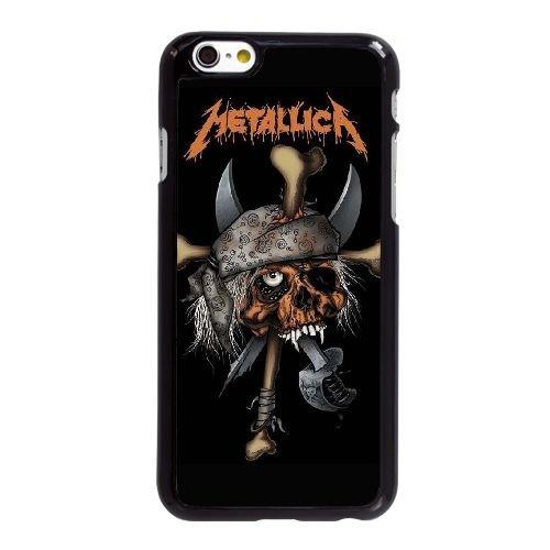 C4X68 Metallica B8K2HC coque iPhone 6 Plus de 5,5 pouces cas de couverture de téléphone portable coque noire WS3IZT0ZJ