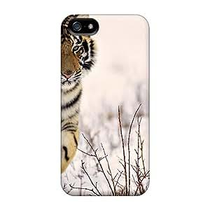 Iphone 5/5s Case Bumper Tpu Skin Cover For Snow Tiger Accessories