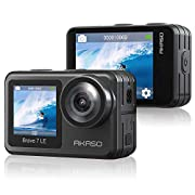AKASO Brave 7 LE Action Camera, IPX7 Waterproof Navitve 4K 20MP WiFi Sports Camera with Touch Screen, EIS 2.0 Remote…