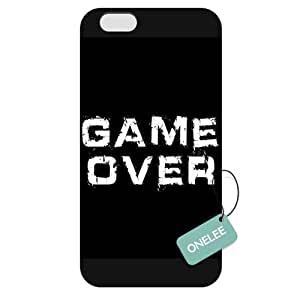 Onelee(TM) - Customized Game Over Apple iPhone 6 Plus 5.5 Hard Plastic case cover