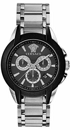 Versace-Mens-VQN040015-Character-Analog-Display-Quartz-Silver-Watch