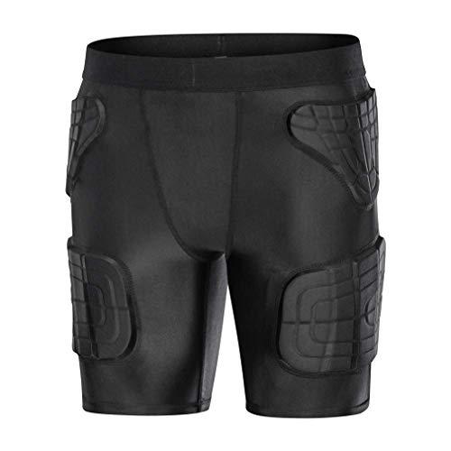 - Minimal Su Youth Girls Snowboard Butt Pads Short Pants Padded Basketball Compression Tights Baseball Padded Shorts But Pads Black YM