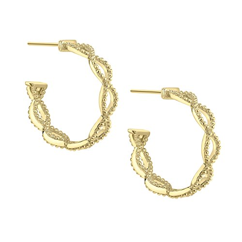 Judith Ripka femme  18carats (750/1000)  Or jaune|#Gold Rond   Blanc Diamant