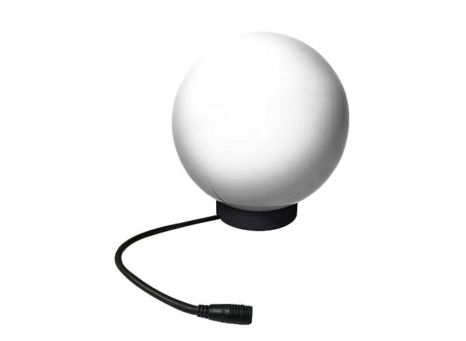 1x giardino luce palla 230v 40w 35 cm sfere illuminazione