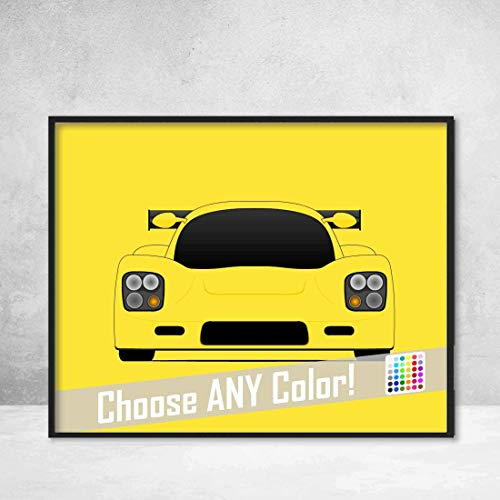 (Ultima GTR Supercar Poster Print Wall Art Decor Handmade)