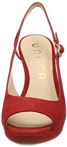 Unisa Women's Tibet_ks Open Toe Sandals Red (Red Red) clearance high quality free shipping high quality 2015 new for sale GiweXB7qI