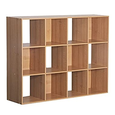 12-Cube Organizer, Maple