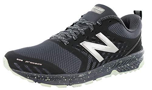 New Balance Women's Nitrel v1 FuelCore Trail Running Shoe, Grey/Black, 10 B US