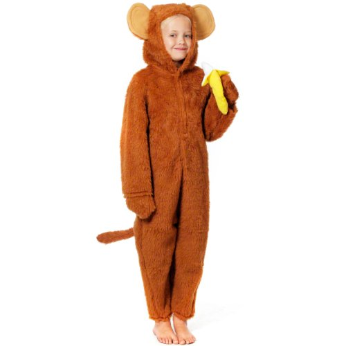 Charlie Crow Cheeky Monkey Costume for Kids 6-8 yrs -