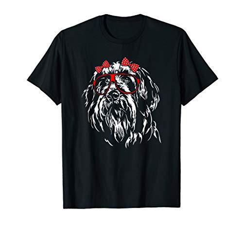 Funny Cute Bearded Collie girl mom dog T-Shirt Shirt Tee ()