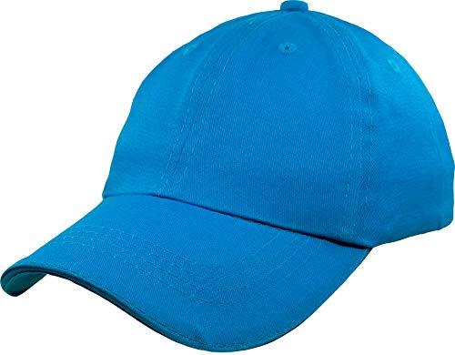 Baseball-Cap-Hat-Boys Kids Adjustable Plain - Unisex Unconstructed Low Profile Cotton Fit 4-12 Years