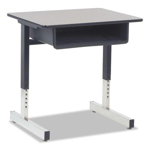 Gray Nebula Tables 30h (Virco Cantilever-Legged Student Desk, 26W X 20D X 30H, Gray Nebula, 2/Carton)