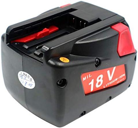 Sté Française – Lot de 2 batteries 18V 3300mAh pour Milwaukee LokTor S18TXC