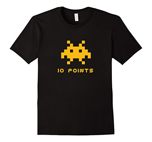 Adults or Kids Retro Invader 10 Points T-shirt - S to 3XL