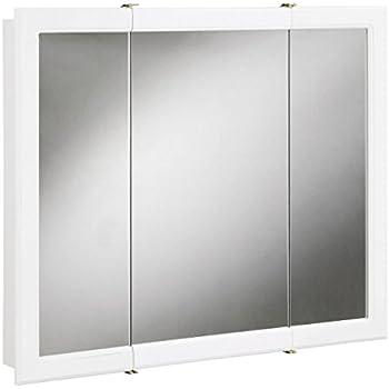 Jensen 255048 Horizon Frameless Medicine Cabinet Tri View