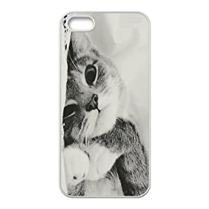 phone covers Custom Colorful Case for iPhone 5c, Cat Cover Case - HL-702335c