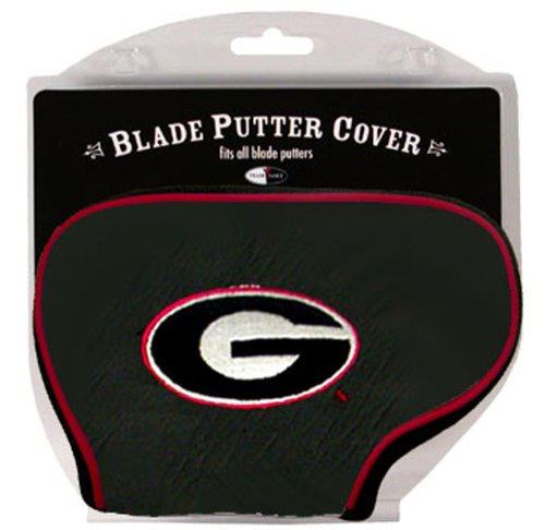 Bulldogs Putter Cover - Team Golf NCAA Georgia Bulldogs Golf Club Blade Putter Headcover, Fits Most Blade Putters, Scotty Cameron, Taylormade, Odyssey, Titleist, Ping, Callaway