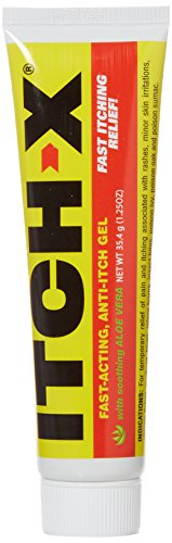 Acting Anti Itch - Itch-X Fast-Acting Anti-Itch Gel, 1.25 oz