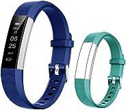 BIGGERFIVE Fitness Tracker Watch for Kids Girls Boys Teens, Activity Tracker, Pedometer, Calorie Counter, Slee