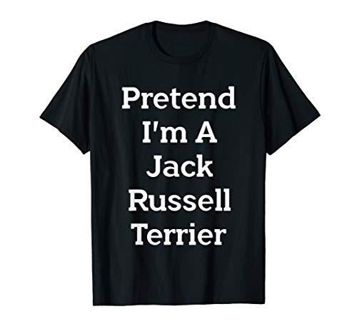 Jack Russell Terrier Costume Funny Halloween Party T-Shirt