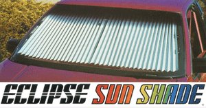 Eclipse Sunshade (Eclipse Windshield Sunshade, 26IN)