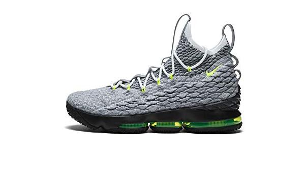 Nike Lebron 15 KSA (Cool Grey/Volt-Wolf