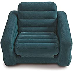 "Intex Pull-out Chair Inflatable Bed, 42"" X 87"" X 26"", Twin (Colors May Vary)"