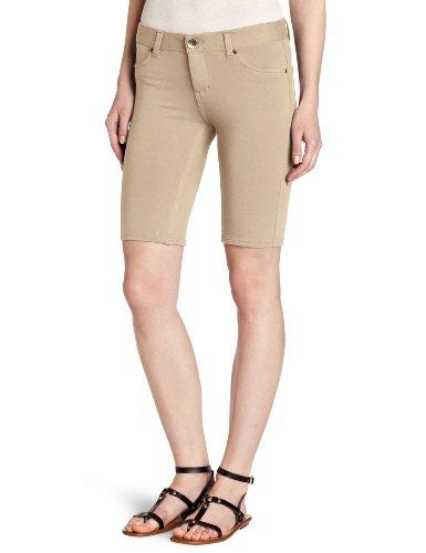 Southpole Shorts Bermuda (Southpole Juniors Basic Super Stretch Cotton Bermuda Short, Stone, Medium)