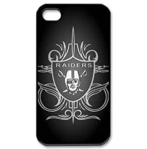 Oakland Raiders logo iPhone 4/4s Hard Shells for fans