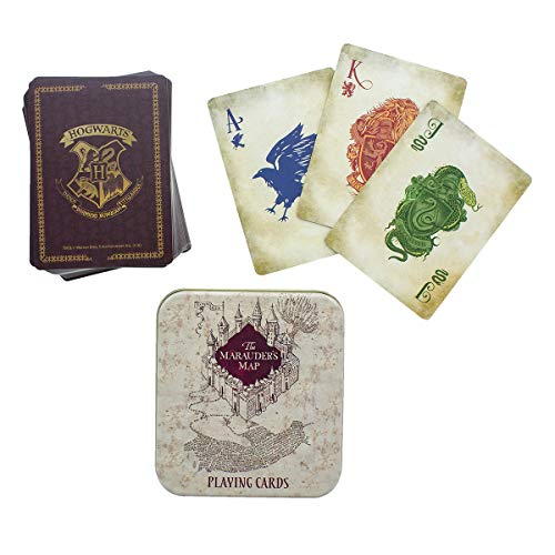 Marauder's Map Playing Cards