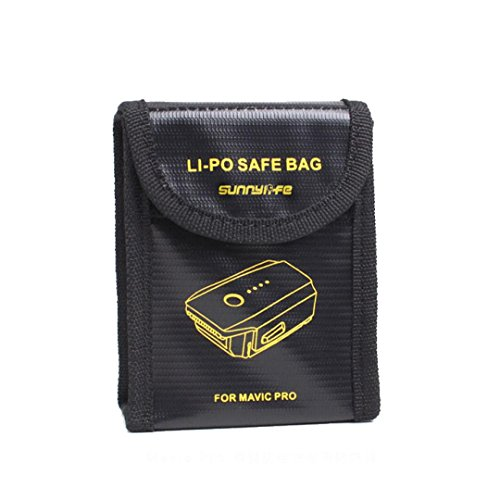 3830mAh Intelligent Flight Battery + 1 PCS Lipo Battery Safe Protectofor For DJI Mavic Pro, Leewa by Leewa (Image #3)