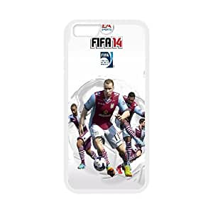 FIFA 14 Aston Villa iPhone 6 4.7 Inch Cell Phone Case White toy pxf005_5865068