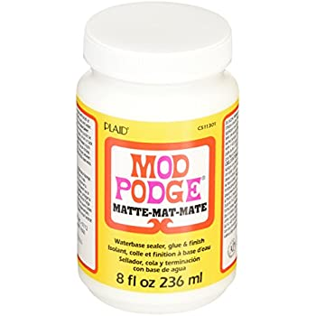 Mod Podge Waterbase Sealer, Glue and Finish (8-Ounce), CS11301 Matte Finish