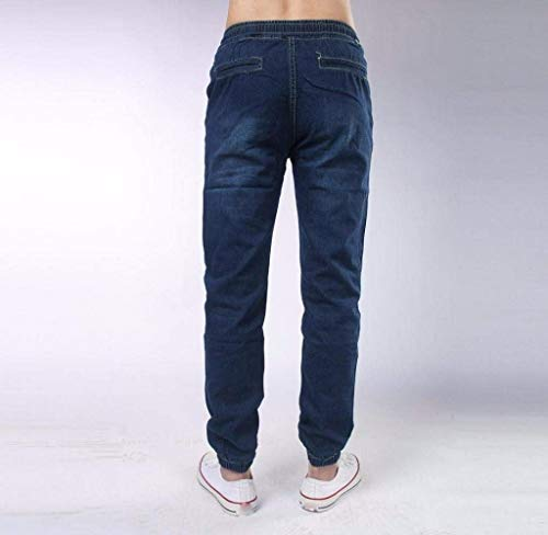 Regular Uomo Jeans Dritti Ragazzi Usato Denim Stretch Slim Laisla Dunkelblau Fashion Look Basic Fit Aderenti Classiche Design EqCR0