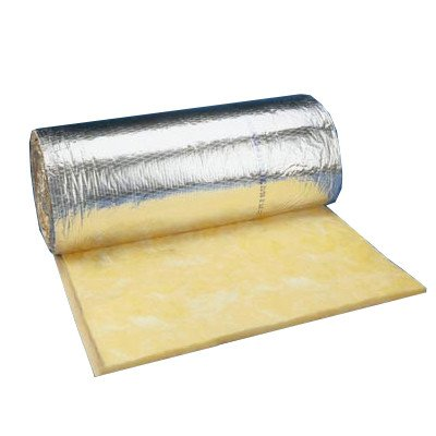 1.5'' FSK Foil Faced Fiberglass Duct Wrap (4' Wide x 100' Length) by Manson