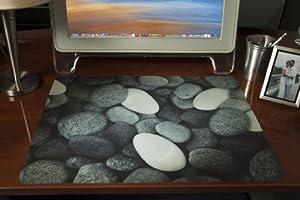 rocks design decorative deskpad office desk. Black Bedroom Furniture Sets. Home Design Ideas