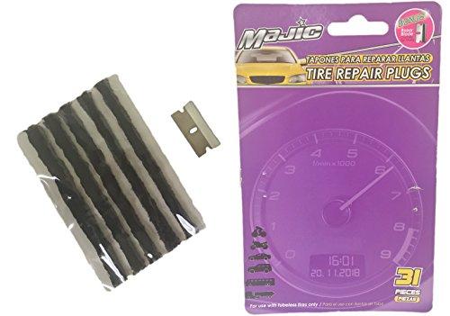 Majic Tire Repair Plugs (Automobile Tire Repair Kit)