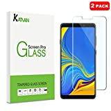 [2 Pack] Samsung Galaxy A9 (2018) Screen Protector, KATIAN HD Clear Protector [Anti-Scratch] [No-Bubble] [Case-Friendly], 9H Hardness Tempered Glass Screen Film for Samsung Galaxy A9 (2018)