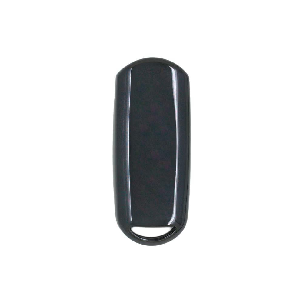 SEGADEN TPU Soft Case Shell Cover Protector Holder fit for MAZDA Smart Remote Key Fob 2 3 4 Button SV7530 Black