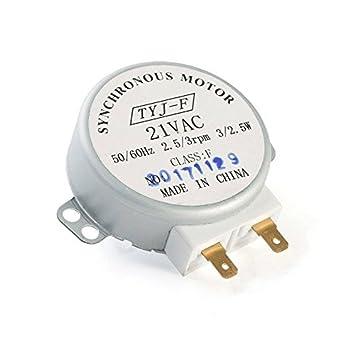 Motor giratorio de microondas 2,5/3 rpm ST16FE EX73SAAA3 ...
