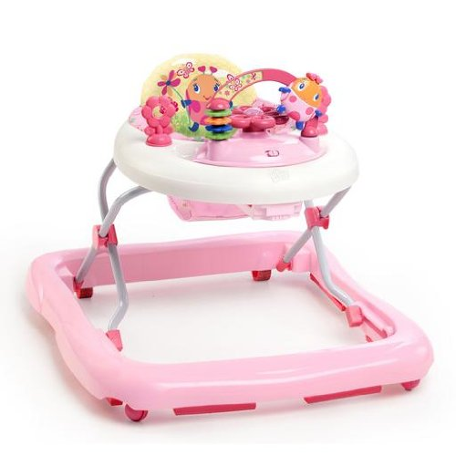 Bright Starts Walk-A-Bout Walker, Juneberry Delight (Bright Starts Bounce Bounce Baby Activity Station)
