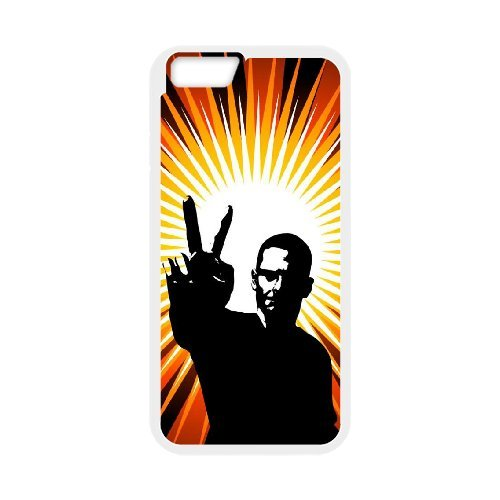 "SYYCH Phone case Of Fashion Design Hand Gesture 1 Cover Case For iPhone 6 Plus (5.5"")"
