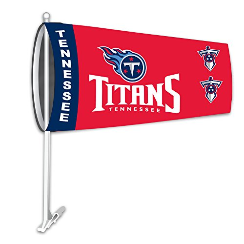 Fremont Die NFL Tennessee Titans Car Sock Flag, 9