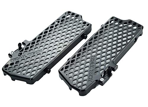 (Trail Tech 0150-RB02 Black Radiator Guards KTM Husqvarna 250 300 450 530 2007-2016)