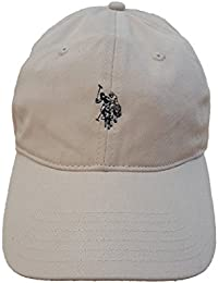 U.S. Polo Assn. Washed Twill Adjustable Ball Cap (Stone)